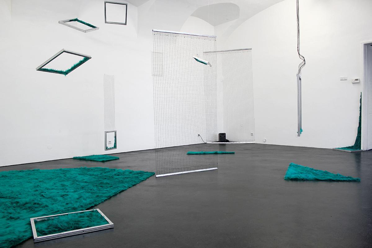 Installation by Ludmiła Kaczmarek (MEMPHIS/Linz)
